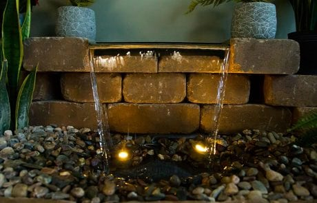 Pondless Fountain in Southern California